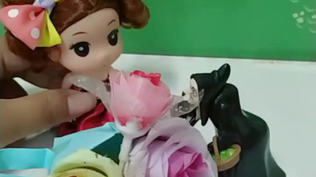 育儿亲子游戏玩具:花仙子可以让花朵盛开