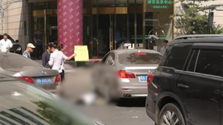 女律师被撞亡肇事司机丈夫:不认识死者 妻子曾下跪道歉