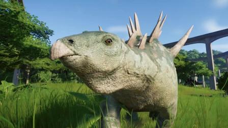 101.认识恐龙之重庆龙 白垩纪侏罗纪