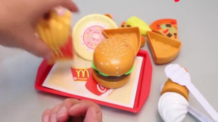 卡通厨具玩具奇趣制作披萨汉堡