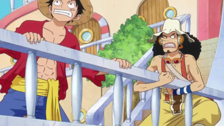 海贼:草帽团就这样强行偷渡到鱼人岛啦?又掉海里的他们要死了?