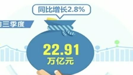 第一时间 辽宁卫视 2019 海关总署公布前三季度外贸数据  外贸进出口总值同比增长2.8%