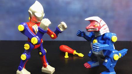 迪迦奥特曼奥特英雄超拼装玩具