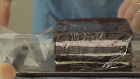 黑巧克力三明治蛋糕 , 你学会了吗