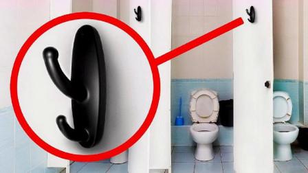 """公共厕所里看见这种""""挂衣钩"""",务必及时报警,看完转告家人!"""