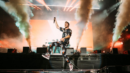烟鬼The Chainsmokers芝加哥Lollapalooza音乐节全场视频!