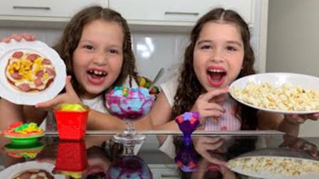 超级棒!萌宝小萝莉如何用手工制作出美味的披萨呢?为何大家看完都鼓掌了?儿童亲子游戏玩具故事