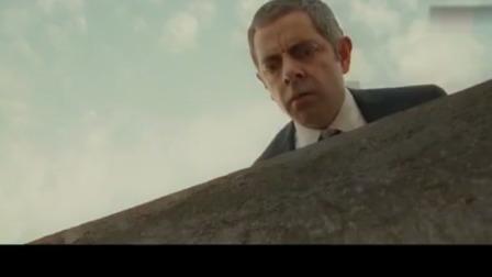 憨豆特工2:反派会武术爬下高楼,憨豆用一招轻松追上他