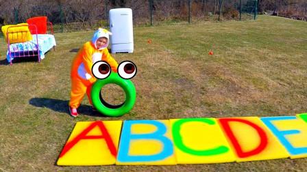 超益智!萌宝小正太唱的字母歌你学会了吗?趣味玩具故事