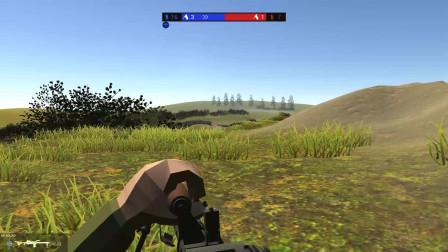 战地模拟器:敌方伞兵从天而降,快去消灭他们