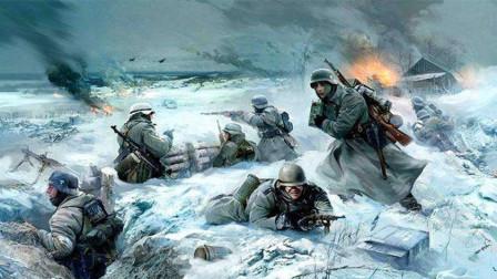 战争太残酷!二战德国党卫军将俘虏的150名美国士兵埋于雪地