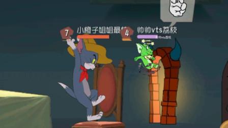 猫和老鼠手游:恶魔杰瑞在我面前一直传送失败,终于成功却死了!