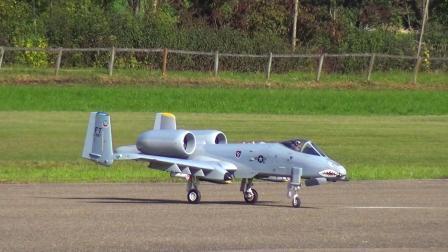 RC遥控A10攻击机