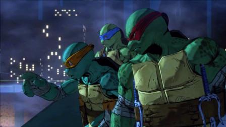 忍者神龟01:达芬祁带着3只忍者乌龟,对抗城市里的邪恶忍者