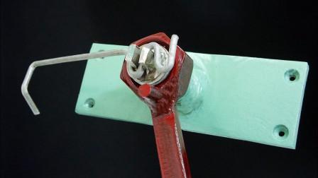 螺母螺栓的组合创意,设计这款机械工具,真是好用!