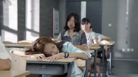 學霸考試時睡著試卷上就寫了三個字老師一看卻高興壞了