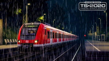 火车模拟世界2020 - 莱茵鲁尔东 #1.5:暴风雨后的清晨 树木倒在轨道上 | Train Sim World