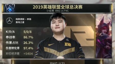 S9赛事速看:双核RNG所向披靡,轻松取胜FNC【RNG vs FNC】
