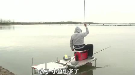 钓友改用0.6配0.25的线组,鱼情立马就变好了