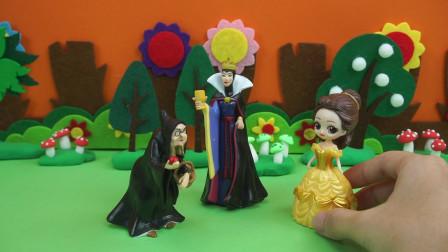 恶毒皇后为了不让白雪公主与王子结婚,送了一个有毒的皇冠给白雪,白雪能变回原来的样子吗?