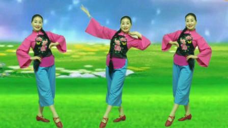 舞之韵芳娟广场舞《荞麦花》2019年流行舞蹈