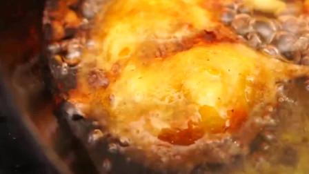 野外美食,制作酥脆多汁的炸鸡排,酥脆美味