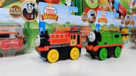 婴幼儿玩具 拼装托马斯小火车木质轨道玩具视频