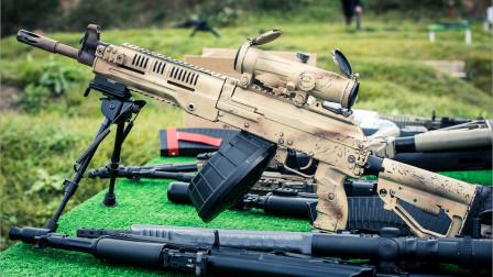 俄罗斯最新班用机枪,能单兵手持射击,还是卡拉什尼科夫的味道