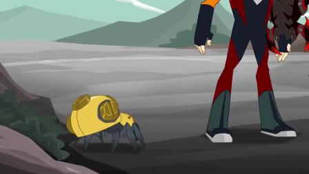 兽王争锋:泰羽发现镐天正在收集特地的精灵,伙伴让跟好他