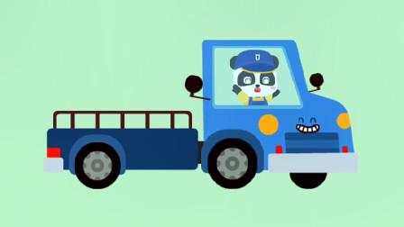 儿童游戏之宝宝交通工具书 奇奇变身一名卡车司机
