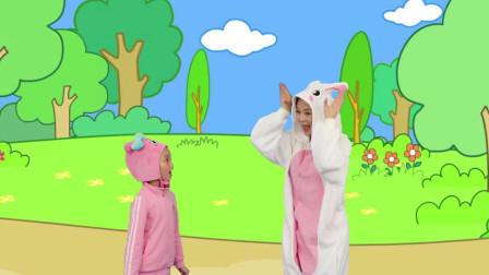 咕力律动儿歌:暖暖操与小兔子
