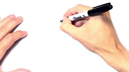 儿童简笔画;如何绘制泰迪熊绘图泰迪熊