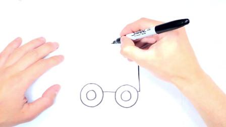 儿童简笔画;如何绘制火车或机车图纸为儿童学习