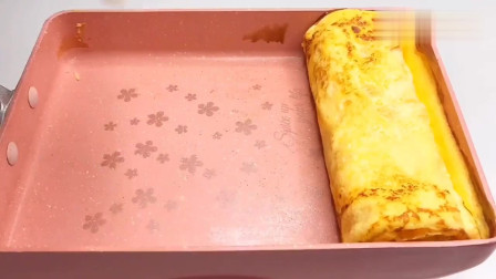 奶香浓郁,口味超赞,日式厚蛋烧