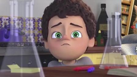 一部动画告诉你:孩子为了父亲的生日,可以有多勇敢