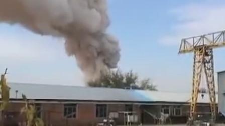 吉林珲春一污水处理厂突发爆炸 现场爆裂声不断