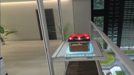 福特未来新理念:无人驾驶汽车搭配无人机送货,完美配合!