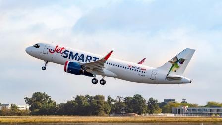 JetSMART航空首架A320neo制造记录
