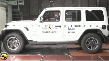 2018款jeep牧马人碰撞测试视频,看完买不买自己拿主意