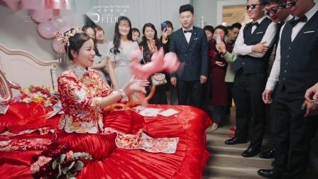 MOMO影视—Oct.16.2019「LIU+SHEN」凤翔山庄婚礼现场快剪