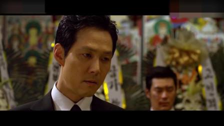 《新世界》:丁青葬礼,李子成一言不发,但也能感受到他的心痛