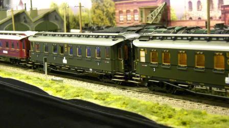 RC遥控采矿车火车模型