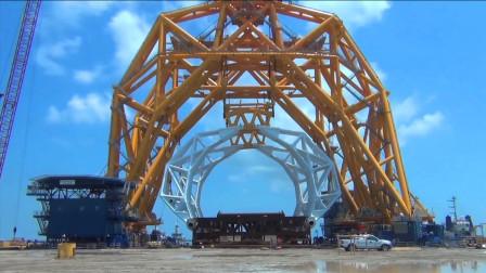 超级巨无霸大抓钩,专门打捞海底沉船,一爪子就是上百吨!