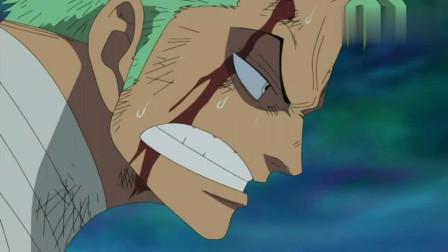 航海王:在鹰眼眼中,索隆就是个自大的小鬼,劝他还是回到城堡比较好