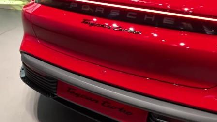 车展细节体验展示, 2020款 保时捷 Taycan Turbo S