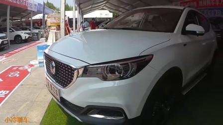 车展实拍2019款上汽名爵ZS, 新车外观大气, 喜欢吗