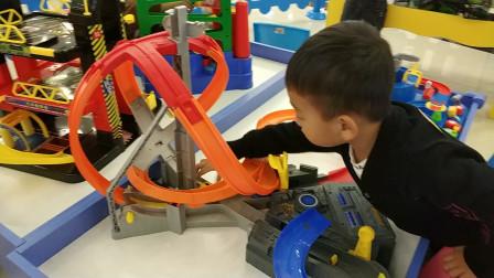极速飞车汽车玩具试玩视频