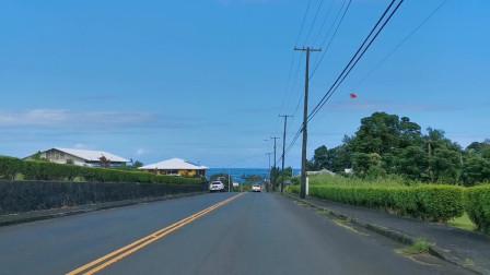 到达夏威夷大岛的第一天
