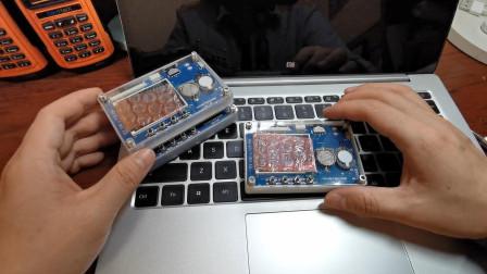 收到了练习器的3D打印边框,三种颜色还能刻呼号,小汪赶紧安装上