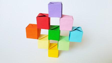 折纸王子跳舞方块1